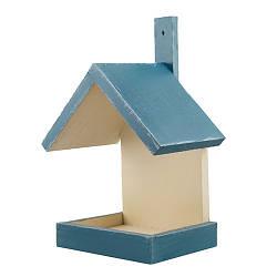 Кормушка для птиц деревянная Decoline Домик D9073-1