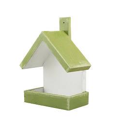 Кормушка для птиц деревянная Decoline Домик D9075-1
