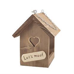 Кормушка для птиц Decoline деревянная Сердце D9017
