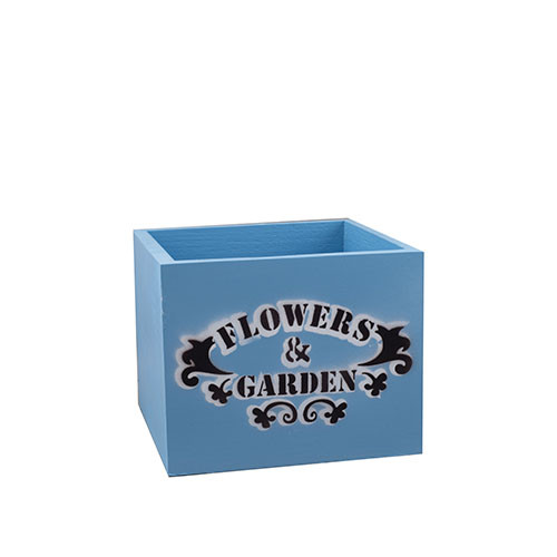 Кашпо дерев'яне Decoline Flowers & Garden Прованс 17*17 см D0002-4