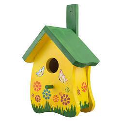 Скворечник для птиц деревянный Decoline Волна D9071-2