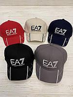 """Кепка мужская х/б """"EA7"""" 57-59 см Цвет указывайте при заказе"""