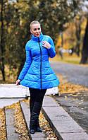 Пальто женское колокольчик