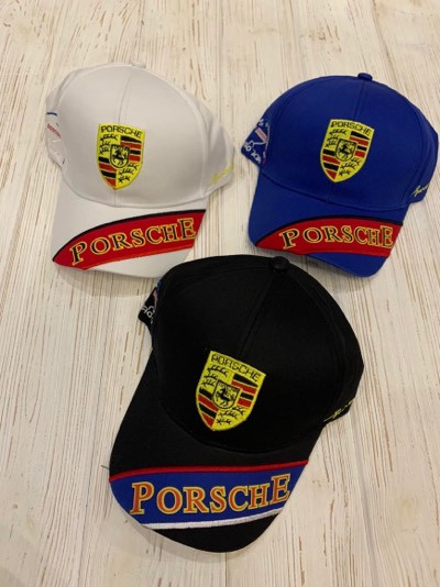 "Кепка мужская х/б ""Porsche"" 57-59 см Цвет указывайте при заказе"