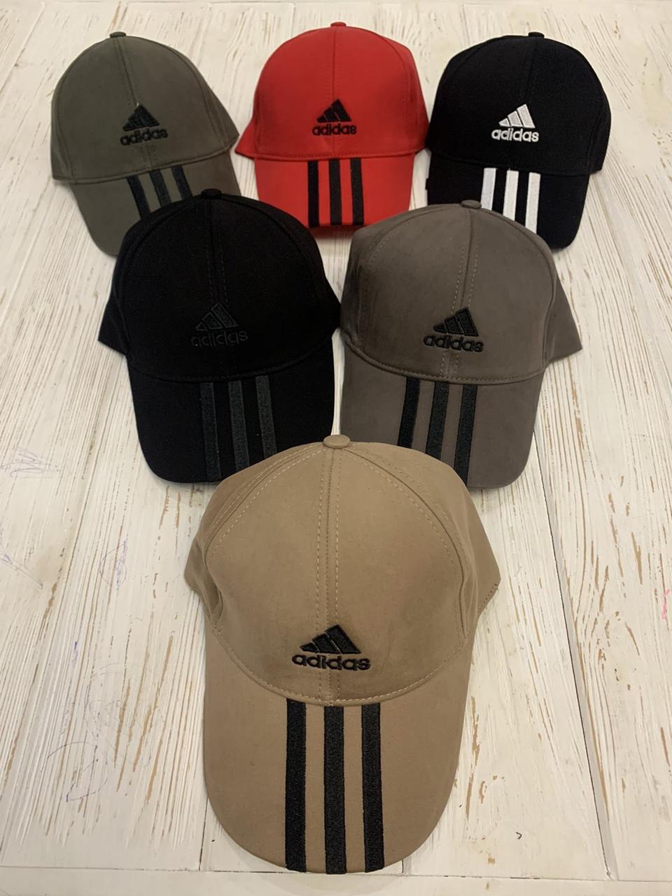 """Кепка мужская коттон """"Adidas"""" 57-60 см Цвет указывайте при заказе"""