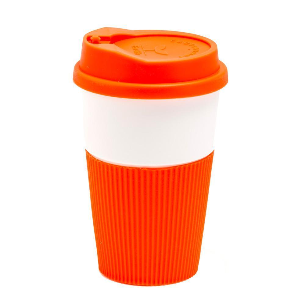 Керамическая чашка Miranda 350 мл Оранжевая