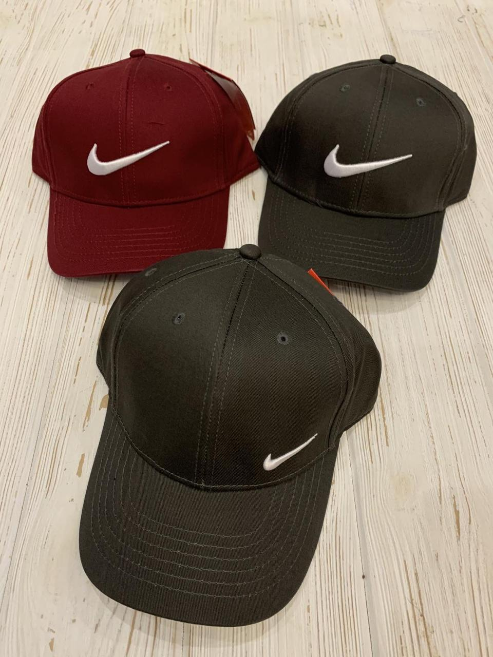 "Кепка мужская коттон ""Nike"" 57-60 см Цвет указывайте при заказе"