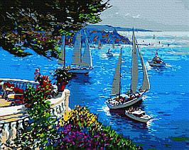 Картина за Номерами Вітрильна гавань 40х50см RainbowArt