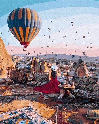 Картина за Номерами Сніданок в Каппадокії 40х50см RainbowArt, фото 2