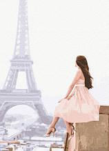 Картина за Номерами Ранок у Парижі 40х50см RainbowArt