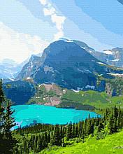 Картина за Номерами Альпійське озеро 40х50см RainbowArt