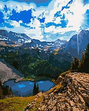 Картина за Номерами Гірське озеро 40х50см RainbowArt
