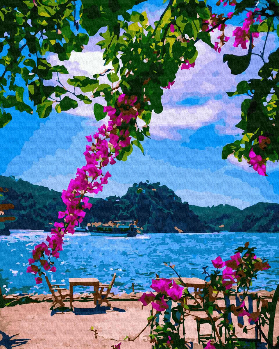 Картина по Номерам На побережье 40х50см RainbowArt