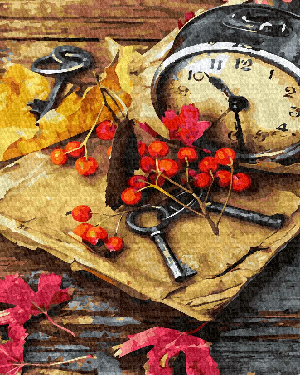 Картина по Номерам Осенний натюрморт 40х50см RainbowArt