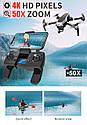 Квадрокоптер L109 Pro GPS Дрон 4K камерой 25 мин 2-осевой стабилизатор 5G Wi-Fi 1.2Км, фото 6