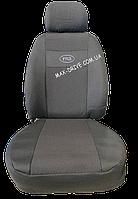 Чехлы на сиденья ГАЗ 2410 / 31029 з/спинка 1/2 1/2; сидение цельное; задний подлокотник; 2 передних