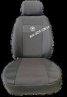 Чехлы на сиденья SKODA FABIA Mk1 раздельная 1999-2007 задняя спинка и сидение 2/3 1/3; 4 подголовника.