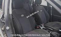 Чехлы на сиденья ГАЗ 3110 / 31105 з/спинка 1/2 1/2; сидение цельное; задний подлокотник; 4 подголовника.