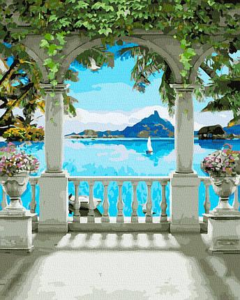 Картина по Номерам Арка у моря 40х50см RainbowArt, фото 2