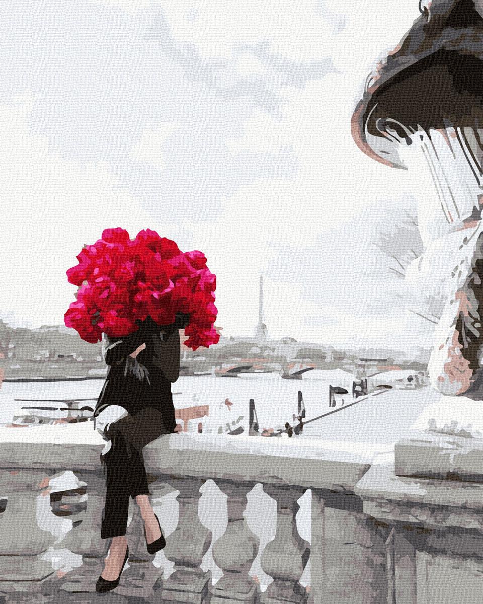 Картина по Номерам В цветах 40х50см RainbowArt
