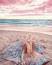 Картина за Номерами Ліловий світанок 40х50см RainbowArt