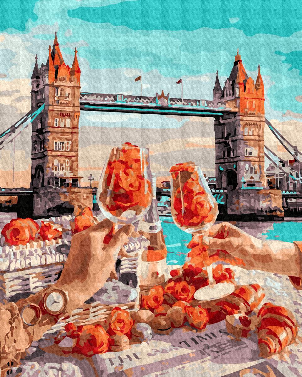 Картина за Номерами Сніданок в Лондоні 40х50см RainbowArt