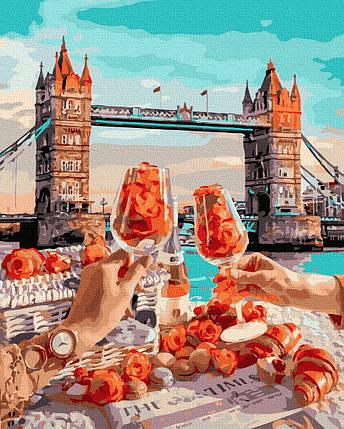 Картина за Номерами Сніданок в Лондоні 40х50см RainbowArt, фото 2