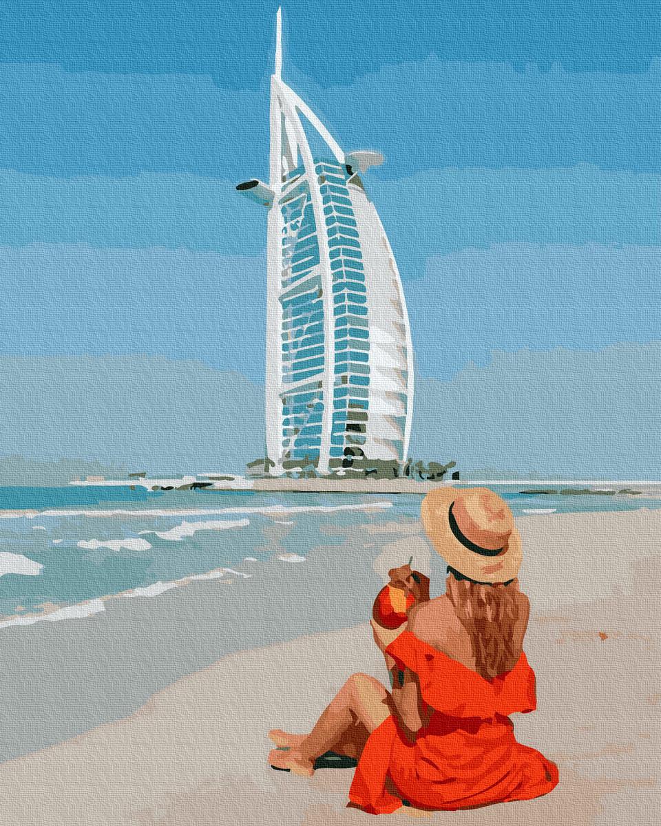 Картина по Номерам Дубаи 40х50см RainbowArt