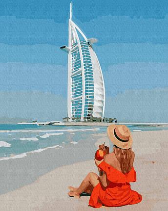 Картина по Номерам Дубаи 40х50см RainbowArt, фото 2