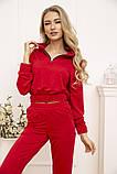 Спорт костюм жіночий 119R286 колір Червоний, фото 4