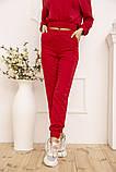 Спорт костюм жіночий 119R286 колір Червоний, фото 5
