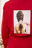 Спорт костюм жіночий 119R286 колір Червоний, фото 6
