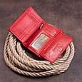 Кошелек горизонтальный женский из двух частей ST Leather 19368 Красный, фото 9