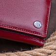 Кошелек горизонтальный с монетником на молнии женский ST Leather 19363 Бордовый, фото 6