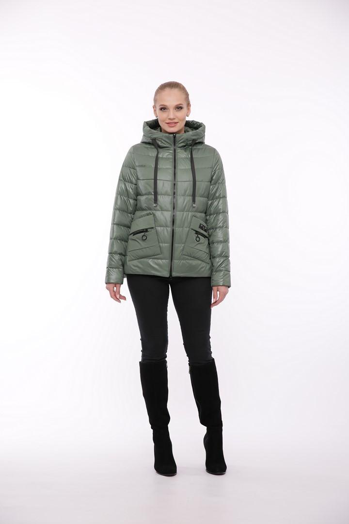 Модная женская демисезонная куртка Жасмин, большие размеры