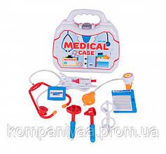 Дитячий ігровий медецинский набір лікаря в валізі 182OR