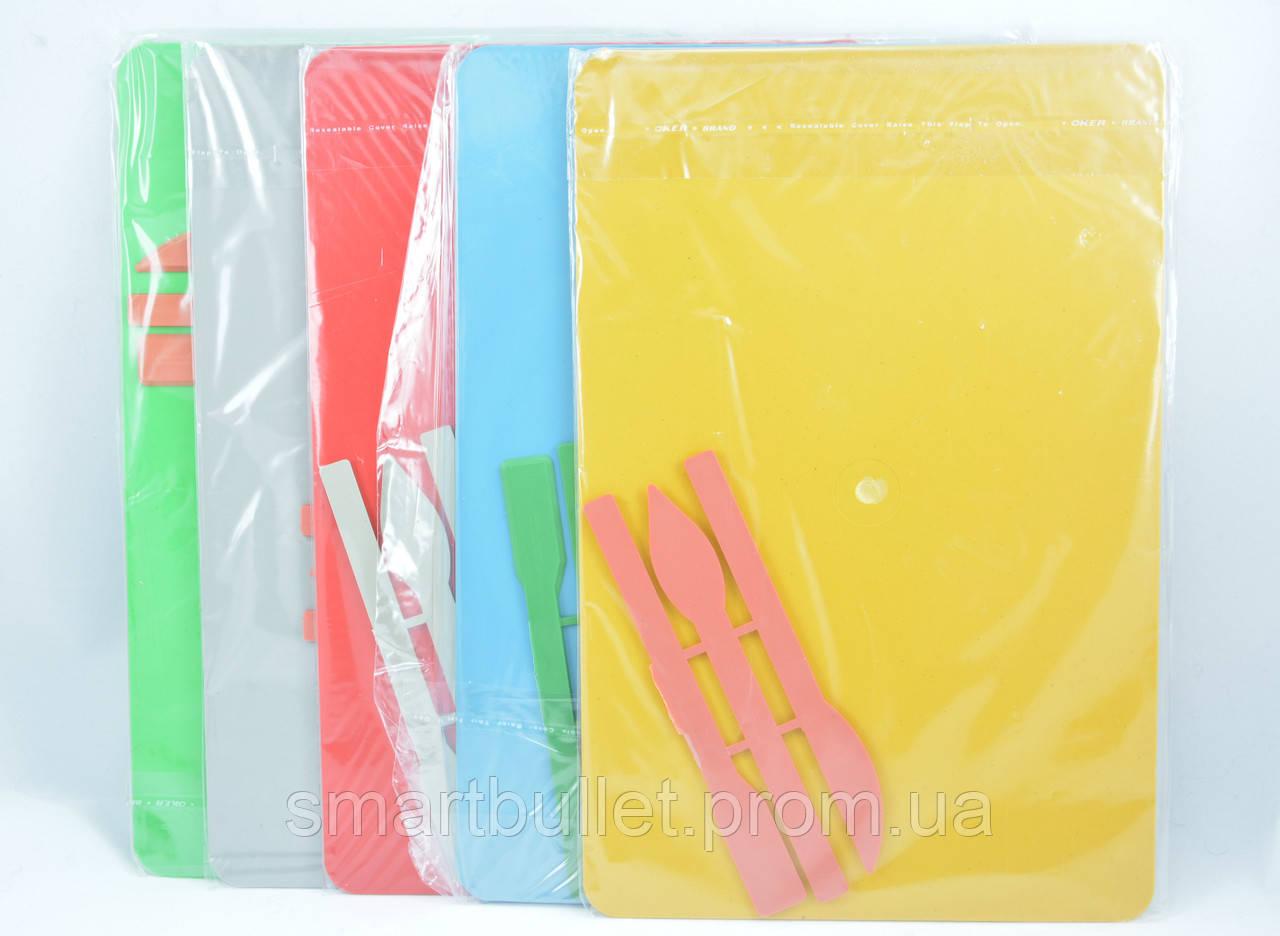 Доска для пластилина со стеками 3033