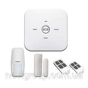 Комплект бездротової GSM + WIFI сигналізації PIPO WL-10GDT