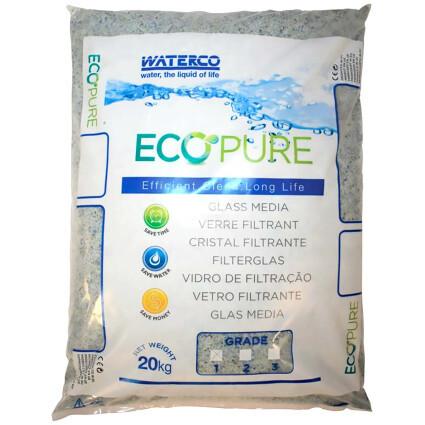 Waterco Песок стеклянный Waterco EcoPure 0.5-1.0 мм (20 кг)