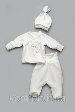 Хрестильний комплект для новонародженого малюка, фото 2