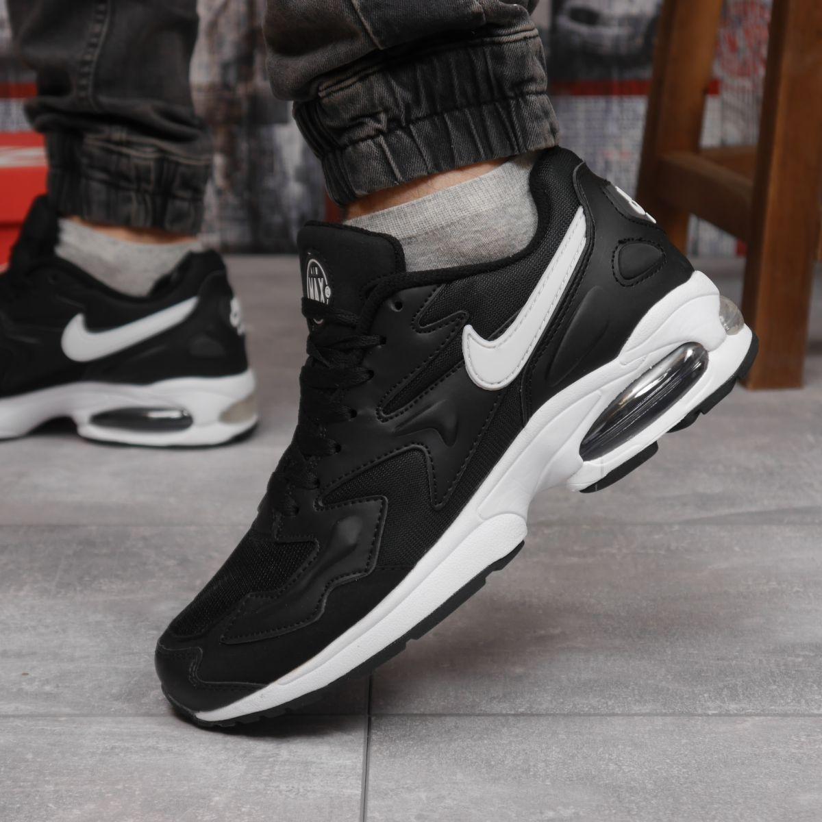 Кросівки чоловічі 15233, Nike Air Max, чорні, [ 42 44 45 ] р. 44-27,7 див.