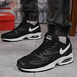 Кросівки чоловічі 15233, Nike Air Max, чорні, [ 42 44 45 ] р. 44-27,7 див., фото 3