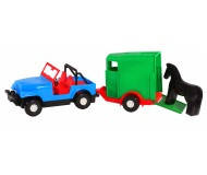 Іграшка Авто-джип з причепом 39007
