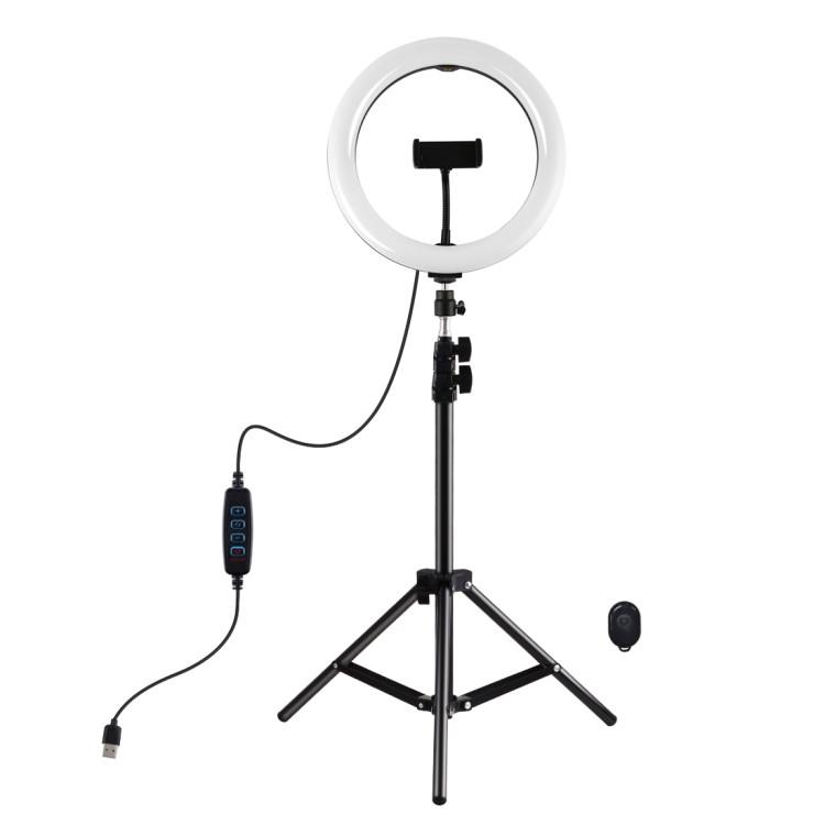 "Кольцевая USB LED лампа Puluz PKT3069B 10.2"" + штатив 1.1 м"