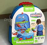 Детский набор доктора в чемодане, Игровой набор врача, медицинский набор для детей, фото 4