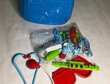 Детский набор доктора в чемодане, Игровой набор врача, медицинский набор для детей, фото 7