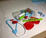Детский набор доктора в чемодане, Игровой набор врача, медицинский набор для детей, фото 8