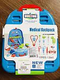Детский набор доктора в чемодане, Игровой набор врача, медицинский набор для детей, фото 9