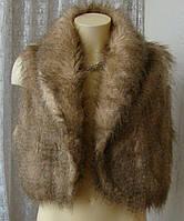 Жилет женский меховой безрукавка бренд Atmosphere р.52 4567, фото 1