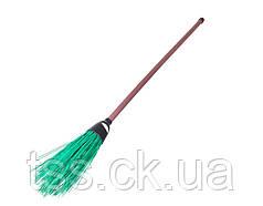 Метла уличная круглая с пластиковой ручкой 1500 мм ПП ГОСПОДАР 14-6339